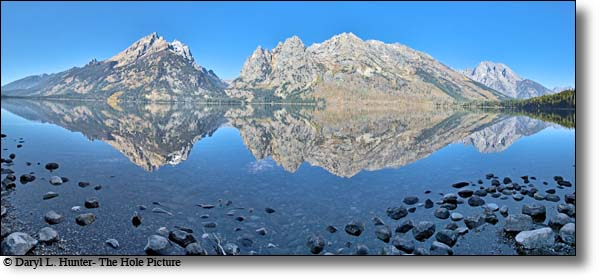 Grand Teton  Reflections, Jenny Lake, Grand Teton National Park