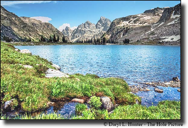 Lake Solitude, high in the Teton Range of Grand Teton National Park