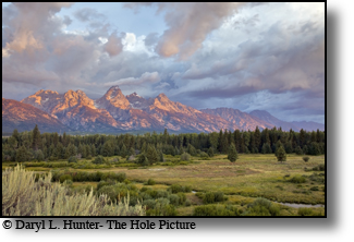 Sunrise, Grand Tetons, Jakckson Hole, Wyoming