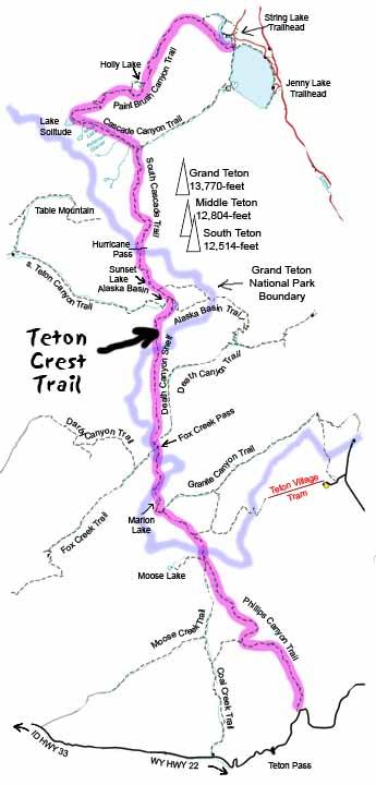Teton Crest Trail