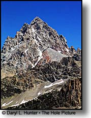 Grand Teton from Hurricane Pass