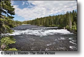 The Fall River, Yellowstone National Park