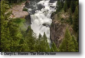 Lower Yellowstone Falls, Idland Park Idaho