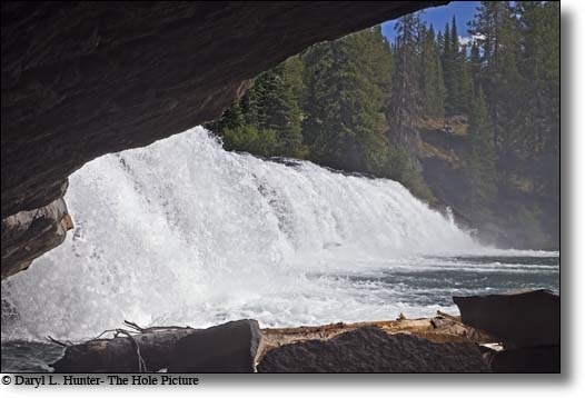Cave Falls, Yellowstone National Park, Island Park, Idaho