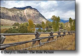 buckrail Fence, Yellowstone River