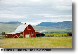 Red Barn Livingston Montana