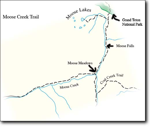 Moose Creek Trail Map