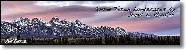 Grand Teton Landscape Collection by Daryl L. Hunter