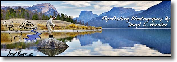 Fly-fishing Fine Art Prints by Daryl L. Hunter