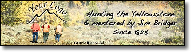 Advertise hunting gear here