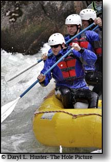 Whitewater Rafting on the Galatin River