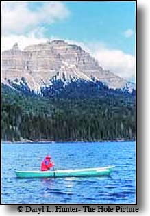 Canoe shoshone National Forest