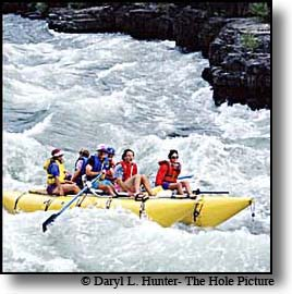 Whitewater Rafting the Snake River