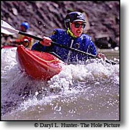 Kayaker Fall River