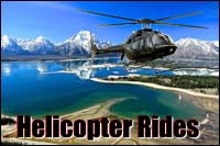 Grand Teton Helicopter rides