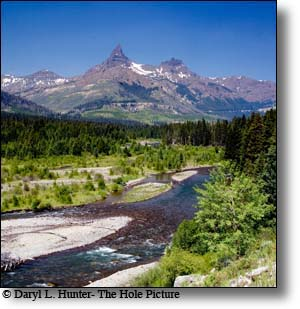 Clarks Fork of The Yellowstone River, Pilot  Peak