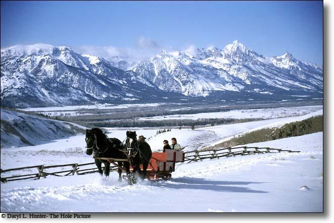 sleigh rides around the idaho falls region