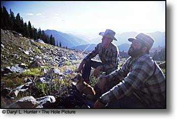 hunting in the Gros Ventre mountains