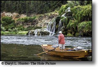 South Fork Fly-fisherman, Fall Creek Falls
