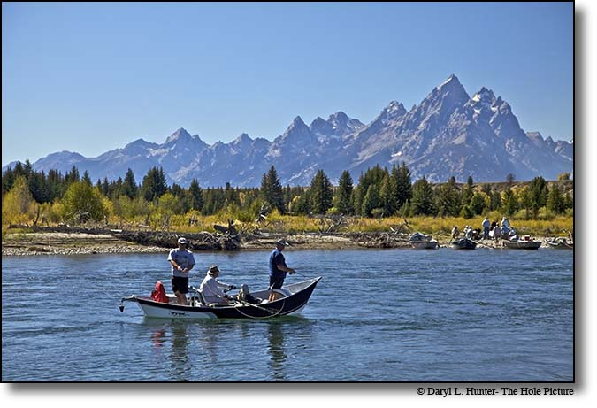 fly-fishing, snake river, grand teton national park, jackson hole, wyoming