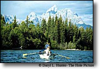 Flyfishing Grand Teton National Park on the Snake River