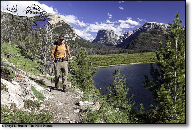 Backpacker, Wind River Mountains, Green River Lake, Pinedale, wyoming