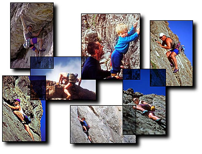 Mountaineering rock climbing Grand Tetons Jackson Hole