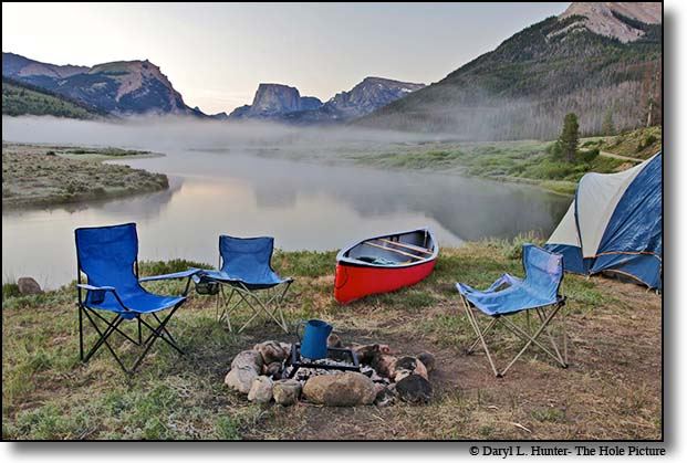 River Camp, Green River