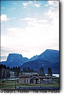old homestead, green river lakes, wind river mountains, pinedale wyoming
