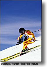 Downhill ski racer, Grand Targhee