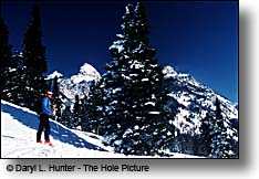 backcountry skiing Jackson Hole Wyoming