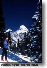 Cross Country Skier, Grand Tetons