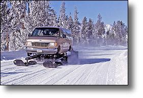 Snowcoach tour