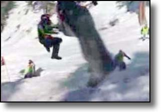Jackson Hole S World Championship Snowmobile Hill Climb