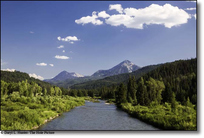 Greays River, Salt River Range, Alpine, Wyoming
