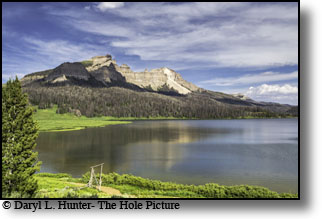 Brooks Lake, Pinnacle Peak, Absaroka Mountains, Dubois Wyoming
